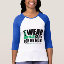 I Wear Liver Cancer Ribbon For My Mom T-Shirt