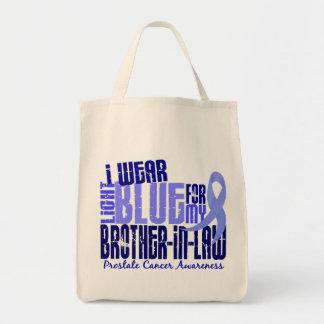I Wear Lt Blue Brother-In-Law 6.4 Prostate Cancer Tote Bag