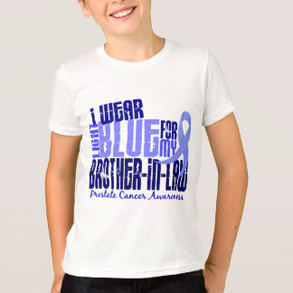 I Wear Lt Blue Brother-In-Law 6.4 Prostate Cancer T-Shirt
