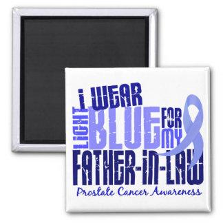 I Wear Lt Blue Father-In-Law 6.4 Prostate Cancer Magnet