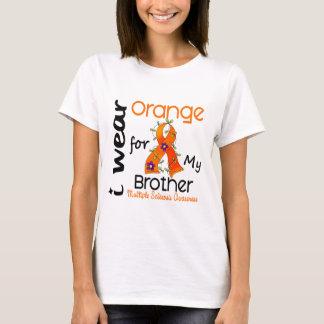 I Wear Orange 43 Brother MS Multiple Sclerosis T-Shirt