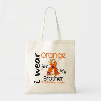 I Wear Orange 43 Brother MS Multiple Sclerosis Tote Bag