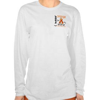 I Wear Orange 43 Brother MS Multiple Sclerosis Tshirts