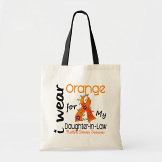 I Wear Orange 43 Daughter-In-Law MS Multiple Scler Tote Bag