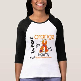 I Wear Orange 43 Mommy MS Multiple Sclerosis T-Shirt