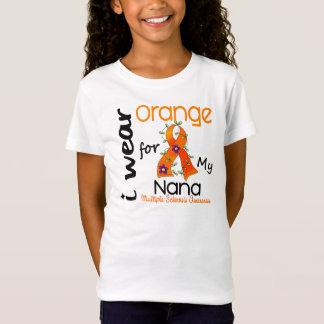 I Wear Orange 43 Nana MS Multiple Sclerosis T-Shirt