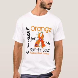 I Wear Orange 43 Son-In-Law MS Multiple Sclerosis T-Shirt