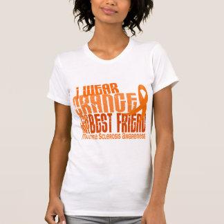 I Wear Orange Best Friend Multiple Sclerosis MS T-Shirt