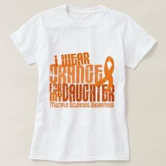 I Wear Orange Daughter 6.4 Multiple Sclerosis MS Tee Shirt