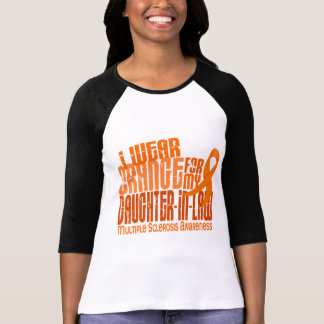 I Wear Orange Daughter-In-Law Multiple Sclerosis M T-Shirt