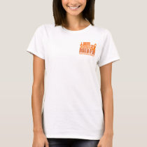 I Wear Orange Daughter-In-Law Multiple Sclerosis M T-Shirt