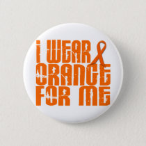 I Wear Orange For Me 16 Pinback Button