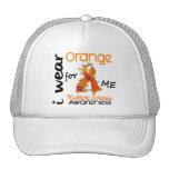 I Wear Orange For Me 43 MS Multiple Sclerosis Trucker Hat