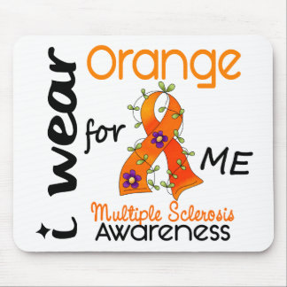 I Wear Orange For Me 43 MS Multiple Sclerosis Mouse Pad