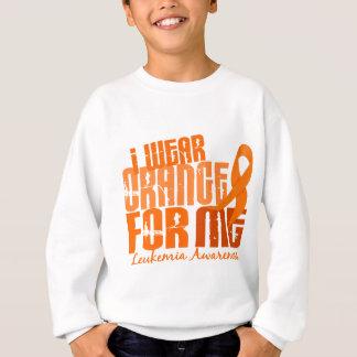 I Wear Orange For Me 6.4 Leukemia Sweatshirt