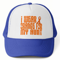 I Wear Orange For My Aunt 16 Trucker Hat