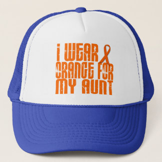 I Wear Orange For My Aunt 16 Trucker Hat
