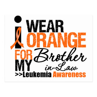 I Wear Orange For My Brother-in-Law Postcards