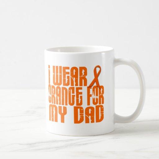 I Wear Orange For My Dad 16 Coffee Mugs
