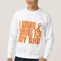 I Wear Orange For My Dad 16 Sweatshirt