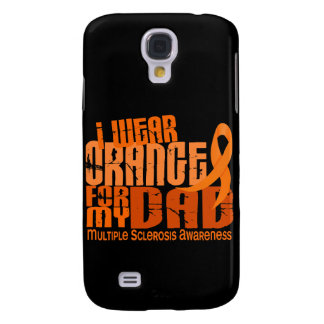 I Wear Orange For My Dad 6.4 Multiple Sclerosis MS Samsung Galaxy S4 Case