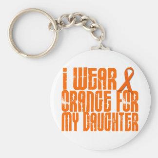I Wear Orange For My Daughter 16 Keychain