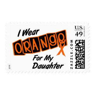 I Wear Orange For My DAUGHTER 8 Postage Stamps