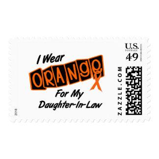 I Wear Orange For My DAUGHTERINLAW 8 Stamp