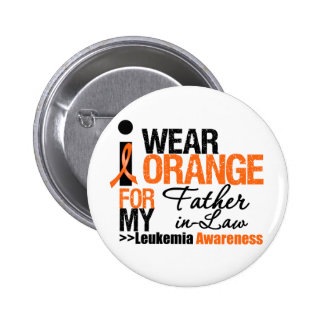 I Wear Orange For My Father-in-Law Button