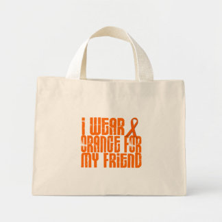 I Wear Orange For My Friend 16 Mini Tote Bag