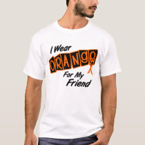 I Wear Orange For My Friend 8 T-Shirt