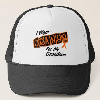 I Wear Orange For My GRANDSON 8 Trucker Hat