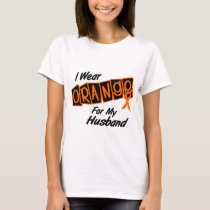 I Wear Orange For My HUSBAND 8 T-Shirt