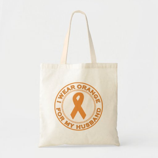 I Wear Orange For My Husband Bag