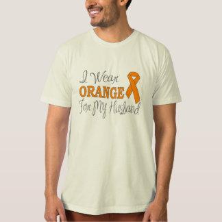 I Wear Orange For My Husband (Orange Ribbon) Shirt