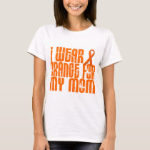 I Wear Orange For My Mom 16 T-Shirt