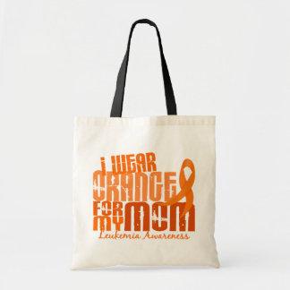 I Wear Orange For My Mom 6.4 Leukemia Tote Bag