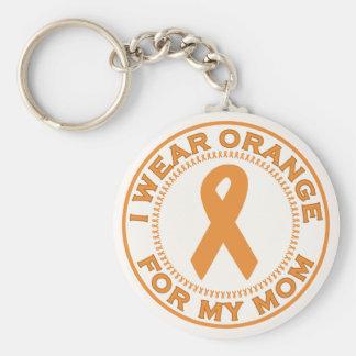 I Wear Orange For My Mom Keychain