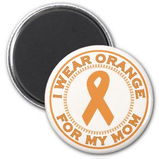 I Wear Orange For My Mom Fridge Magnets