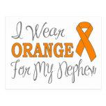 I Wear Orange For My Nephew (Orange Ribbon) Postcard