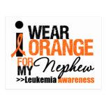 I Wear Orange For My Nephew Postcard