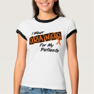 I Wear Orange For My Patients 8 T-Shirt