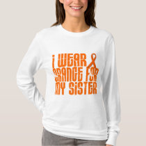 I Wear Orange For My Sister 16 T-Shirt