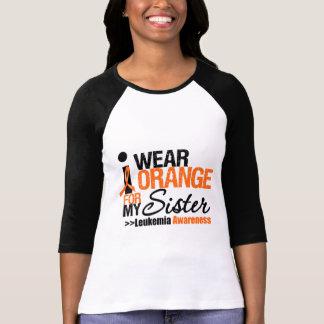 I Wear Orange For My Sister Tee Shirt
