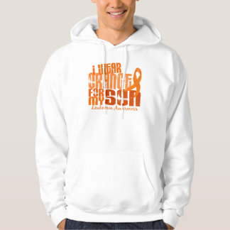 I Wear Orange For My Son 6.4 Leukemia Hoodie