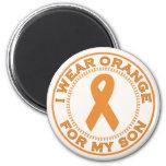 I Wear Orange For My Son Refrigerator Magnets