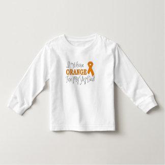 I Wear Orange For My Step-Dad (Orange Ribbon) Toddler T-shirt