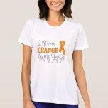 I Wear Orange For My Step-Son (Orange Ribbon) Tshirts