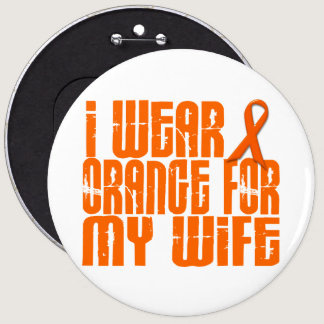 I Wear Orange For My Wife 16 Pinback Button