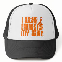 I Wear Orange For My Wife 16 Trucker Hat
